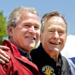 Bush is Supposed to Support the Guy Calling Him a War Criminal?